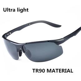 Sports Polarized Sunglasses Lens UV400 Protection TR90 Frame Ultra-Light Sunglasses