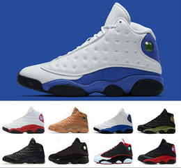 2018 High Quality hyper royal retro 13 13s Altitude Wheat Bred DMP Chicago mens basketball shoes sneakers Sports trainers US 8-13