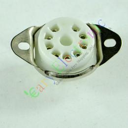 9pin MINI Ceramic vacuum tube socket for 12AX7 12AU7 ECC83 ECC82 audio amplifiers radio parts DIY