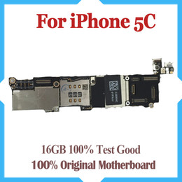 16GB Unlocked Mainboard For iPhone 5C Motherboard with Chips,100% Full Completely Original,Good Working Free Shipping