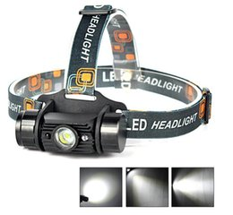 3W Mini IR Sensor Headlight Induction Usb Rechargeable Lantern Headlamp 350 Lumen 1 Modes LED Head Torch by 18650 Battery