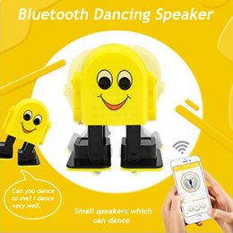 Portable Wireless Multifunction Smart Cute Bluetooth Intelligent RC Robot Speaker Music Dancing Electronic Kids Toy Best Gifts