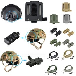 Outdoor Gear Airsoft Paintball Shooting Tactical Airsoft Fast Helmet Accessory Tactical Helmet OPS-CORE Side Guide Rail
