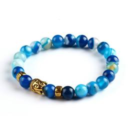 Lava Stone Onyx Bead Buddha Bracelet Buddha Stone Black Yoga bracelets For Men Women Mujer Pulseras Fashion Jewelry