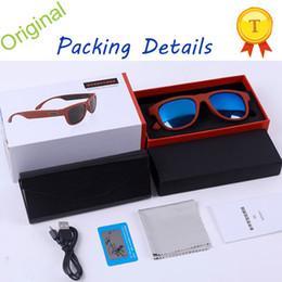 2018 Toptronics New Technology Product Bone Conduction Glasses Wireless Bluetooth Smart Control Sunglasses Smart Glasses