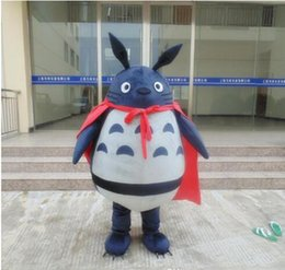 New Style Adult Cute BRAND Cartoon New Professional My Neighbor Totoro Mascot Costume Fancy Dress Hot Sale Party costume Free Ship