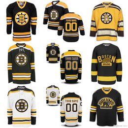 2016 New custom cheap Mens Womens Kids Boston Bruins Hockey Jersey Customized Personlize Jerseys any Name any Number 100% Embroidered Logo