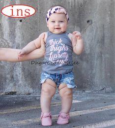 ins summer kids thickhighs letter print vest tops tshirt girls boys cotton tshirts tank top 3colors choose free ship