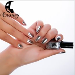 2018 metal color Stainless steel color Mirror silver nail polish manufacturers selling Wolesale Best Price free shipping