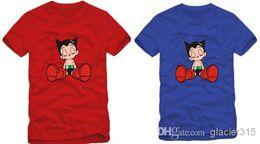 free shipping fashion tee astro boy T-SHIRT cartoon T SHIRT astro boy t-shrt 6Color 100% cotton