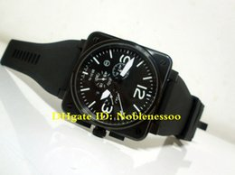 4 Color Top Classic luxury Mens Watch 46mm 01-94 Edition chronograph Black PVD Edition Quartz Rubber Bands Racing Men's Sport Watches