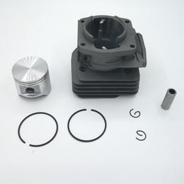 New aluminum cylinder piston kit for Husqvarnass 365 48mm W Gasket