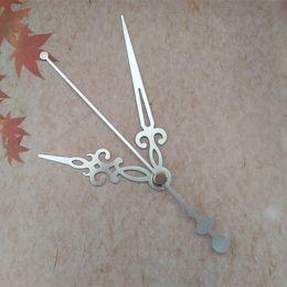 Wholesale 50PCS Silvery Metal Clock Quartz Arrows for DIY Repair Wall Quartz Clock Accessories Free Shipping