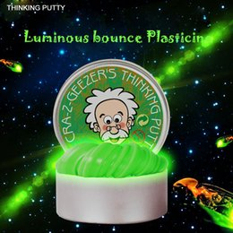 Luminous Thinking Putty DIY Intelligent Creative Hand Gum Temperature Change Turns Color Slime Silly Magnetic Toys Plasticine Mud Steel box