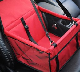 Portable Pet Car Seat Dog Cat Seat Safe Waterproof Travel Folding Bag Carrier Box Cage Cover Mat washable