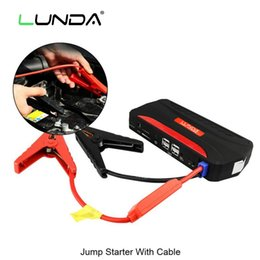 LUNDA 600A Peak Portable Car Jump Starter Battery Power Bank Charger 12V Car Battery Booster for Gas and Diesel Engine