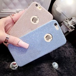 Diamond flash Glitter case For iPhone X 8 5 5S SE 6 6S 7 Plus Ultra Thinr Bling Cute Candy Cover Crystal Soft Gel TPU Phone free shipping