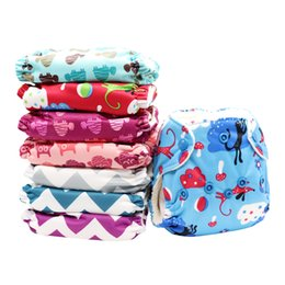 MABOJ Newborn Cloth Diapers All In One Cloth Nappies Newborn Reusable Diapers Hypoallergenic&Waterproof Nappies Fits Babies 4-12 Pounds