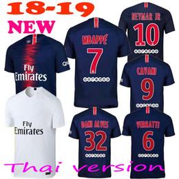PSG 18 19 neymar jr soccer jersey 2018 2019 mbappe CAVANI PASTORE DRAXLER away Paris football shirts survetement maillot de foot customize
