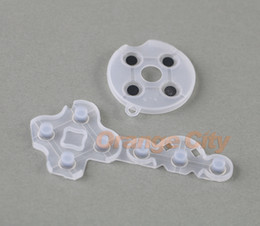 Free shipping Transparent Controller Conductive Adhesive conductive rubber D-Pad Pads For XBOX360 wireless controller