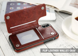 Hot Selling Phone Case Multi Fuction PU Leather Flip Wallet Case With Card Holder Can Be Bracket For IOS PHONE 6