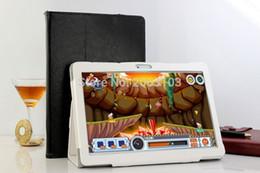 2018 Nova 10 polegada Octa Núcleo 3G Tablet 4 GB de RAM 32 GB ROM 1920*1200 Dual Câmeras Android 6.0 Tablet de 10.1 polegada Frete Grátis
