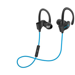 56S Sports In-Ear Wireless Bluetooth Earphone 4.1 Stereo Earbuds Headset Bass Earphones with Mic for Smart Phone 30pcs lot EVA PACKAGE