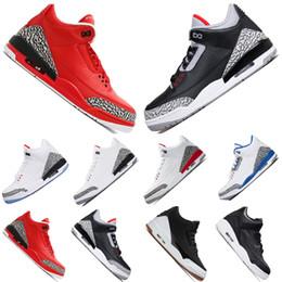 Nuevo Grateful Katrina Venta al por mayor negro blanco cemento Zapatos de baloncesto Tinker fuego rojo infrarrojo rojo Hombres zapatillas deportivas Zapatillas