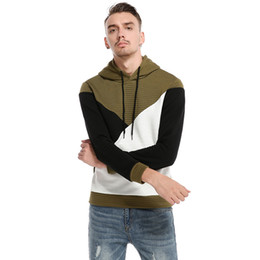 Mens Long Sleeve Hoodie Sweatshirt New Casual Fashion Mens Tracksuit Coat For White Pullover Sweater Drop Shopping