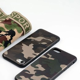 Camouflage coque case for iphone x 8 7 iPhone 6 6s iPhone 5 5s se silicone phone case new design TPU soft cover funda capa