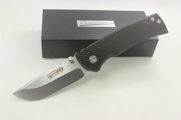 High Quality Samier Knives Redencion Custom Cts-xhp Steel Blade Carbon Fiber Handle Pocket Folding Knife Tactical Survival Camping Knives