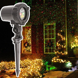 Christmas Laser Projector Lights Outdoor 110 Volts 220 Volts Light New Year Decorations For Home Red Green Laser Fairy Light