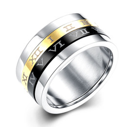 Male Female Vintage Ring High Quality 316L Stainless Steel Rings For Men And Women Fashion Wedding Jewelry