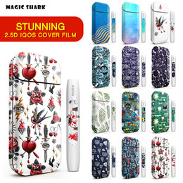 IQOS Skin Sticker 2.5D Stereo Film For IQOS 2.4 Plus 3M Printing Cover PVC IQOS Skin Case Sleeve Decorative Protective Sticker