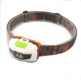 Portable CREE R3 Headlamps 2 LED Flashlight Headlights Outdoors 300LM Headlight With Headband Hiking Camping Torch