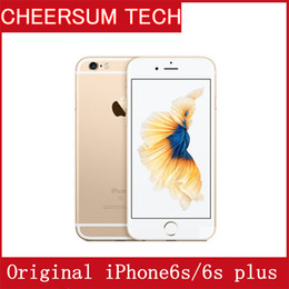 Original Unlocked Apple iPhone6s iPhone 6s Plus with TOUCH 12MP Camera Cell Phone 4.7&5.5' IPS 2GB RAM 16 64 128GB ROM IOS LTE