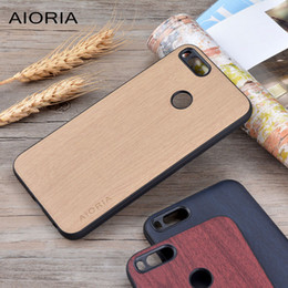 Wooden design case for Xiaomi mi a1 mi 5x soft TPU silicone material with PC with wood PU leather skin mi a1 fahion covers coque fundas