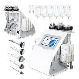 Radio Frequency Multipolar RF Ultrasonic Cavitation Fat Removal Vacuum Body Slimming Diode Lipo Laser Machine for Sale