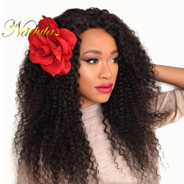 Nadula Virgin Brazilian Kinky Curly Human Hair Bundles Human Hair Weave 4 Bundles Brazilian Human Hair Extensions Curly Bundles Wholesale