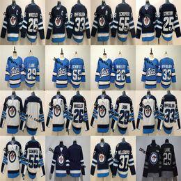 2019 New Third 26 Blake Wheeler Winnipeg Jets 29 Patrik Laine 25 Stastny 33 Dustin Byfuglien 55 Mark Scheifele 37 Hellebuyck Hockey Jersey