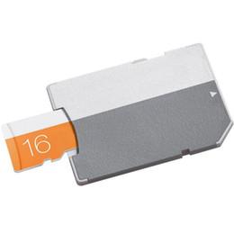 2020 100% Real original capacity Class 10 EVO 64GB 32GB 16GB 8GB 4GB Card TF Memory Card C10 Flash SD Adapter Orange EVO C6