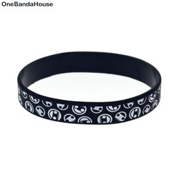 Wholesale Drop Shipping 100PCS Lot Printed Neff Silicone Wristband For Give Away Gift Adult Size 4Colours