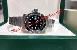 6 style top quality Vo5 2813 Movement Ceramic Bezel Sapphire Glass 40mm 116610 116610LV 116613 116660 116619 original box Mens Watch Watches