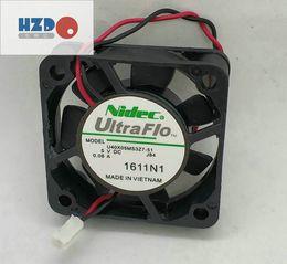 T & T 4010H12B NF1 4010 4CM 12V 3 wire small fan,NIDEC U40X05MS3Z7-51 5v