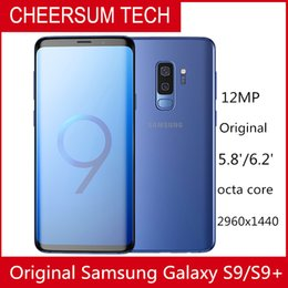 2019 Original Samsung Galaxy S9 s9+ G960 G965F 6.2'' 6GB RAM 64GB ROM Snapdragon 845 Android 8.0 Fingerprint LTE Mobile Phone