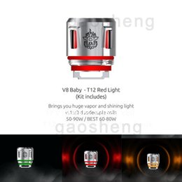TFV8 Baby New Beast Coil Head V8 Baby Q4 Mesh Strip T12 Light T12 0.15ohm Coils For TFV12 Baby Prince Tank 100% Genuine