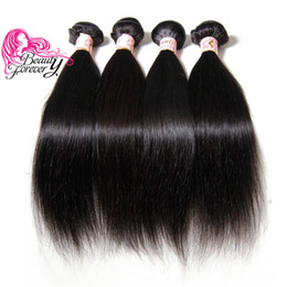 Beauty Forever Malaysian Straight Hair Weaves 4 Bundles 8-30inch Natural Color 100% Double Weft Human Hair Extensions Good Quality