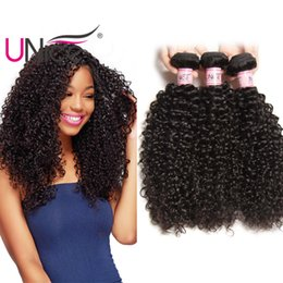 UNice Hair Virgin Unprocessed Peruvian Curly Wave Bundles 100% Human Hair Extensions 8-26 inch Remy Wholesale Cheap Nice Curl Hair Weaves