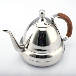 Stainless Steel Coffee Drip Kettle Pot Teapot Kettle Tea Coffee Maker Hight Quality Kitchen Accessories spout Kettle hot water