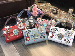 2018 brand new and hot sale model Europe and America style fashion diamond women bag